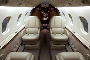 Light Jet Interior