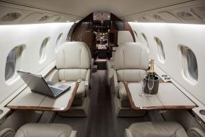 Mid-Sized Jet Interior
